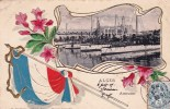 Alger -  Amiraute  - Drapeau Francais - Carte Gauffree - Algiers