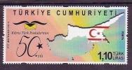 2014 TURKEY 50TH YEAR OF CYPRUS TURK POSTS MNH ** - Nuevos