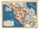 Elba Pisa Cascina Pescia Pistoia Arezzo Umbertide Marsciano Amelia Bolsena Norcia Spoleto Antrodoco Ascoli Amiata Massa - Maps