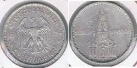 ALEMANIA  DEUTSCHES 5 REICHMARK A 1934 PLATA SILVER R - [ 4] 1933-1945 : Tercer Reich