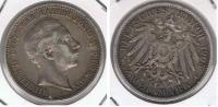 ALEMANIA  DEUTSCHES REICH 2 MARK A 1905 PLATA SILVER R - [ 2] 1871-1918 : Imperio Alemán