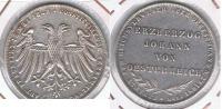 ALEMANIA  FRANKFURT THALER  1848 PLATA SILVER R - Taler Et Doppeltaler