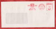 Brief, Absenderfreistempel, Wappen, 900 Jahre Germersheim, 100 Pfg, 1991 (26068) - Poststempel - Freistempel