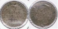 ALEMANIA HANNOVER 12 EINEN THALER  1853 PLATA SILVER R - Taler Et Doppeltaler