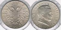 AUSTRIA 2 SCHILLING 1934 PLATA SILVER R BONITA - Austria