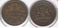AUSTRIA ALEMANIA  KREUTZER 1862  NASSAU R - Austria