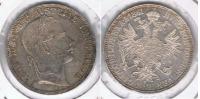 AUSTRIA FLORIN 1861 PLATA SILVER R BONITA - Austria