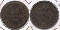 BULGARIA 10 CENTIMOS LEBA 1881 R - Bulgaria