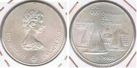 CANADA  5 DOLLARS 1973 PLATA SILVER R - Canada
