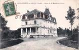 (23) La Villeneuve En Marche - Château De Mr Barthélemy Chapal - 2 SCANS - France
