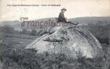 (23) Faux La Montagne - Roche De Clamougeat - 2 SCANS - Andere Gemeenten