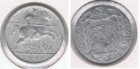 ESPAÑA FRANCO 5 CENTIMOS PESETA 1941 R - [ 4] 1939-1947 : Gobierno Nacionalista