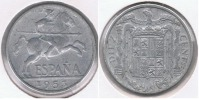 ESPAÑA FRANCO 10 CENTIMOS PESETA 1953 R - [ 4] 1939-1947 : Gobierno Nacionalista