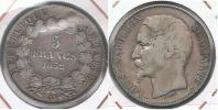 FRANCIA FRANCE 5 FRANCS A 1852 PLATA SILVER R - J. 5 Francos