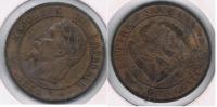 FRANCIA FRANCE 10 CENTIMES FRANC K 1864 R - Francia