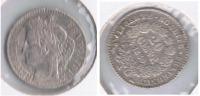 FRANCIA FRANCE 20 CENTIMES FRANC A 1850 PLATA SILVER R - D. 10 Céntimos