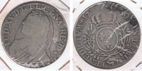 FRANCIA LOUIS XV ECU  1735  PLATA SILVER R. - 987-1789 Monedas De La Realeza