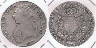 FRANCIA LOUIS XVI ECU  1784   PLATA SILVER R.. - 1715-1774 Louis XV Le Bien-Aimé