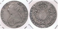 FRANCIA LOUIS XVI ECU  1784   PLATA SILVER R.. - 987-1789 Monedas De La Realeza