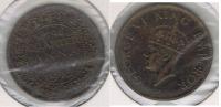 INDIA QUARTER ANNA 1941 R - India