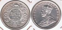 INDIA RUPIA RUPEE 1918 PLATA SILVER R - India