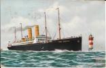 USA - Carte Postale PAQUEBOT - GEORGE WASHINGTON - Posted At Sea 1913 - German Sea PO - Paquebots