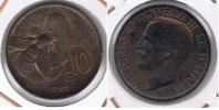 ITALIA  10 CENTIMI LIRA 1922 R - 1861-1946 : Reino