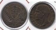 ITALIA  10 CENTIMI LIRA 1943 R - 1900-1946 : Víctor Emmanuel III & Umberto II