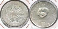 PERU 200 SOLES ORO 1975 PLATA SILVER R. - Perú