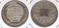 PERU CONSTITUCION 1860 PLATA SILVER R - Perú