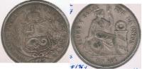 PERU SOL 1867 PLATA SILVER R. BONITA - Perú