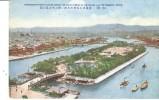 POSTAL  OSAKA  -JAPON  NAKANOSHIMA PARK FLOATING AMONG THE GREAT STREAM - Osaka