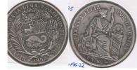 PERU SOL 1885 PLATA SILVER R - Perú