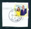 AUSTRALIA  -  2014  Royal Visit  70c  Sheet Stamp  Used CDS As Scan - 2010-... Elizabeth II