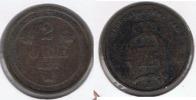 SUECIA 2 ORE 1877 R - Suecia