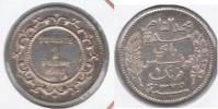 TUNEZ FRANC 1916 PLATA SILVER R BONITA - Túnez
