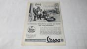 VESPA - VESPA-SERVICE - PUBLICITE DE 1958 ISSUE D'UN MAGAZINE ILLUSTRE - - Publicités