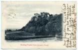 STIRLING CASTLE, FROM QUEEN'S ROAD / POSTMARK - STIRLING 1903 - Stirlingshire