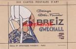 Finistère Breiz Gwechall Par Géo Fourrier (devant De Pochette De Carte) - Gouézec