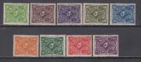 1922    MICHEL  Nº  224 / 232    / ** / - Alemania