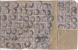 1906 USA PHILIPPINE ISLANDS MAGELLANO C. 6 X 94 STAMPS ON FRONT OF PARCEL FRONTESPIZIO PACCO ALCUNI DIFETTOSI (E6) - Filippine