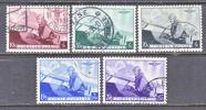 BELGIUM  B 209-13   (o)   AERO - Used Stamps
