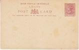 LAGOS   POSTAL   CARD  * - Nigeria (...-1960)