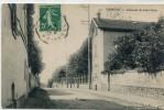 CPA 95 ERMONT CHAUSSEE DE JULES CESAR 1912 - Ermont