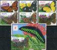 Vanuatu 1998. Michel #1065/70+Bl.#32 MNH/Luxe. Butterflies. (TS42/B46) - Papillons