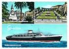 Le  Christophe  Colomb      à  Genova   1961 - Paquebots