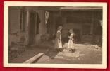 HAL-20  Scène Paysanne, Lieu à Déterminer. Enfants Dans La Cour, Chocolat Klaus Le Locle Et Morteau, Non Circulé - NE Neuenburg