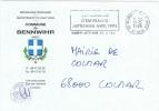 ESP-L1 - FRANCE Lettre En Franchise Postale De La Mairie De Mittelwihr Avec Flamme Temporaire Congrès D'Esperanto - Esperanto
