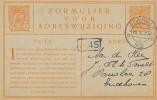 ALKMAAR - 1926 , Adressänderung - Postal Stationery