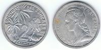 COMORES 2 FRANCS FRANCOS 1964 EBC+ - Comoros